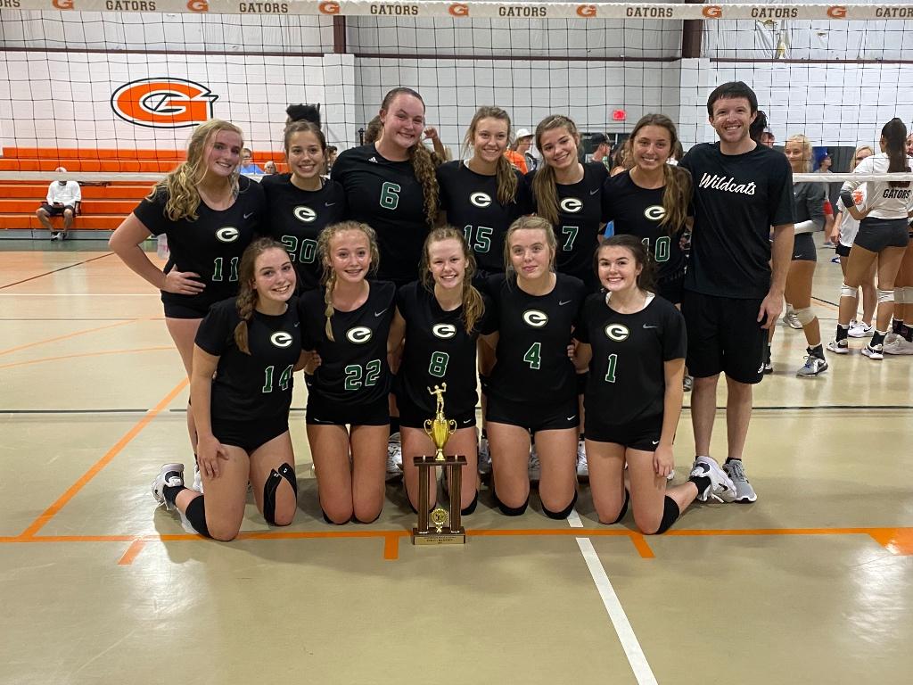 Edgewood volleyball